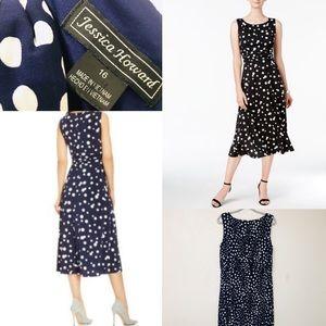Jessica Howard Polka-Dot Dress